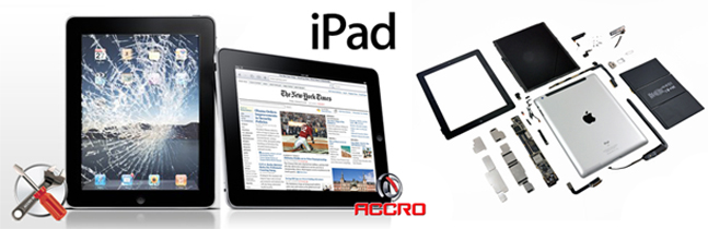 Vente accessoires réparation iPad
