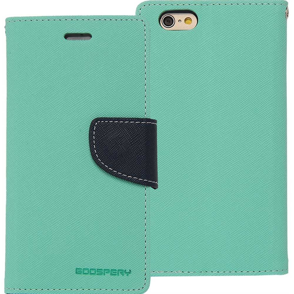 PROTECTEUR - ÉTUI - VERT - GOOSPERY - FANCY DIARY CASE - IPHONE 5 / 5S /SE