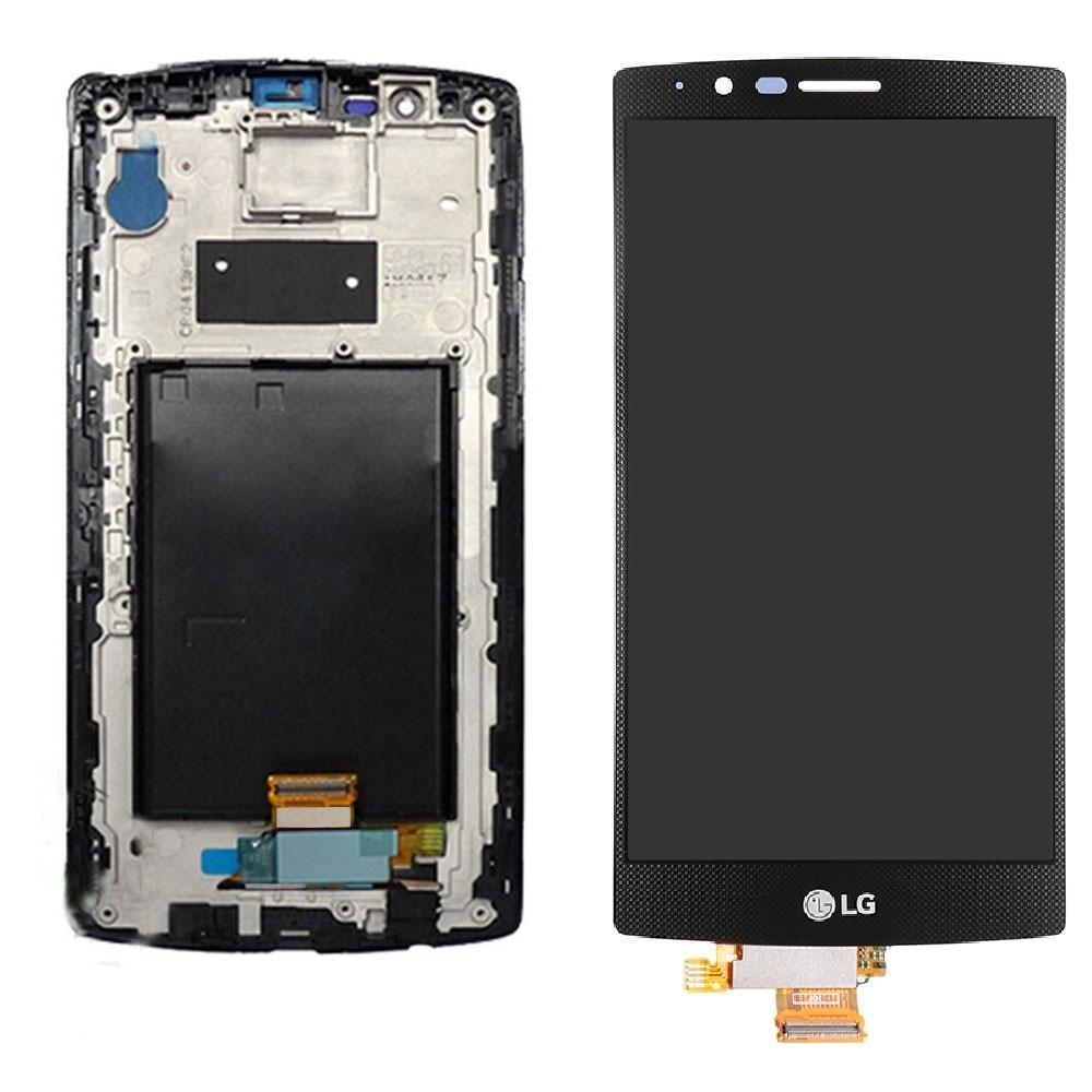 ÉCRAN - LCD + VITRE TACTILE | LG G4 ( Noir)