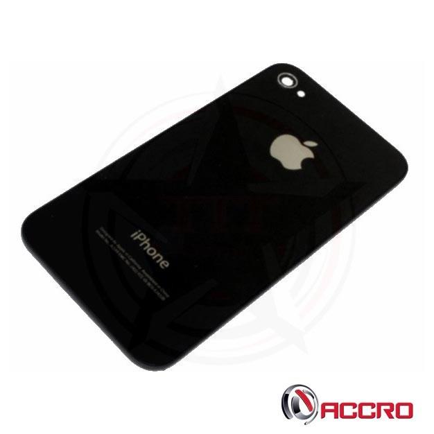 Coque arrière pour iPhone 4 Noir