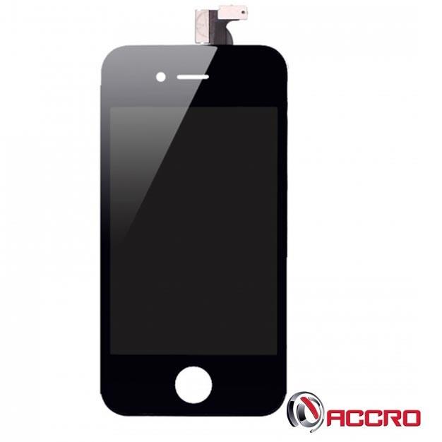Écran - LCD + Vitre tactile - iPhone 4S Noir