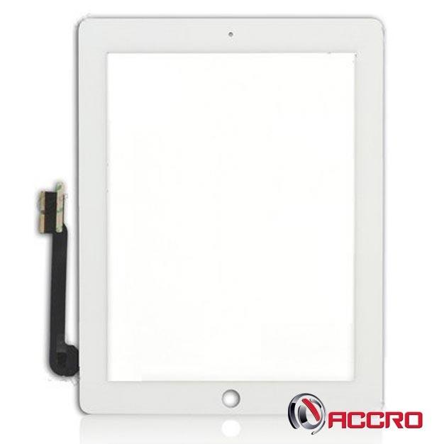 Vitre Tactile Digitizer pour iPad 3 et iPad 4 Apple Blanc