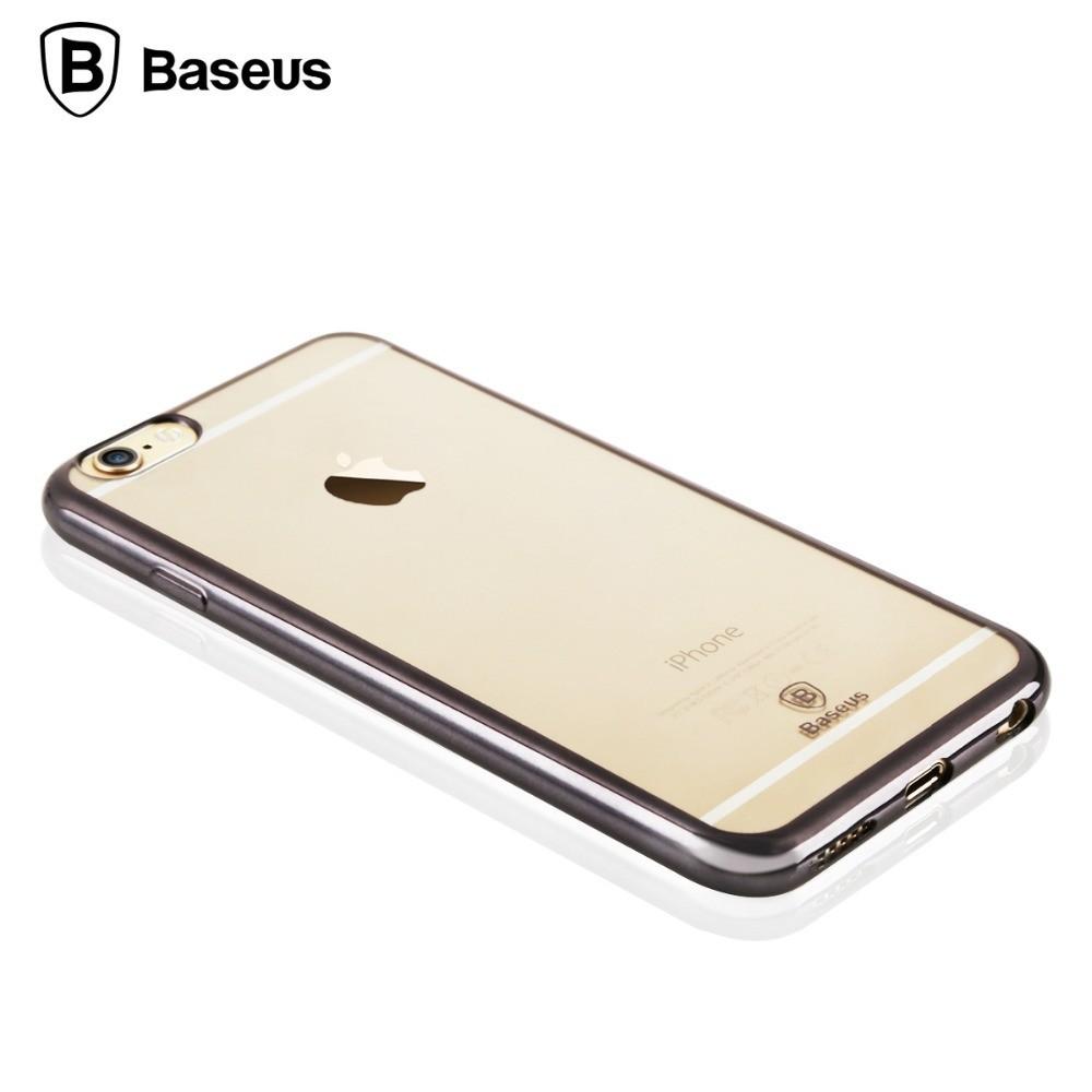 PROTECTEUR - ÉTUI - SILVER - BASEUS - SHINING CASE - IPHONE 6 / 6S