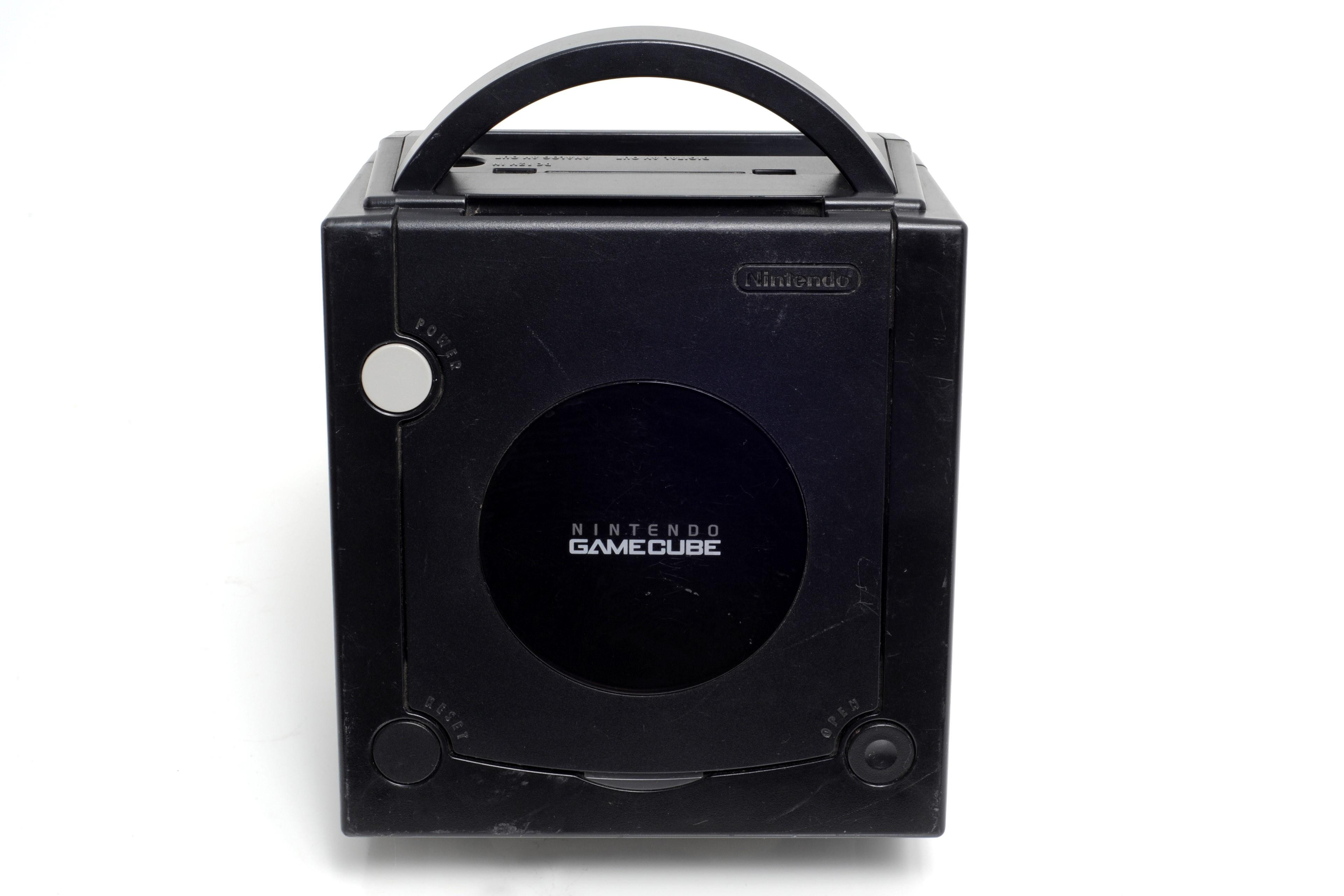 Console Nintendo GameCube noire - Jet Black -  sans fils, ni manette