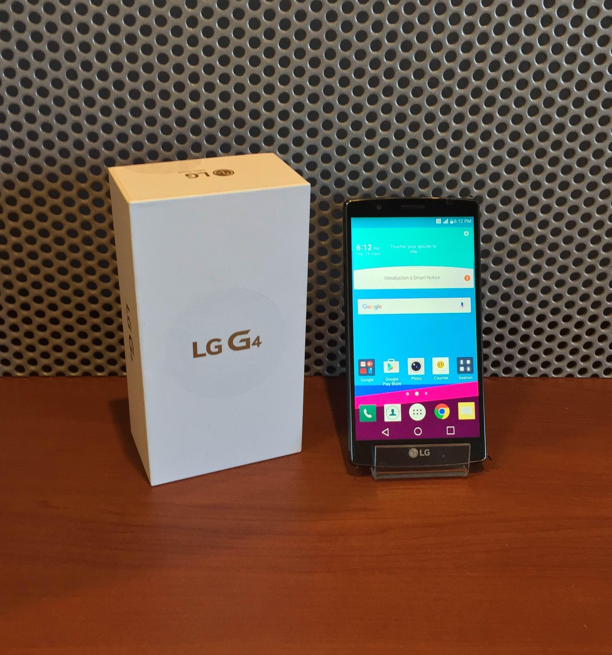 LG G4 - COMME NEUF - Noir - Unlock - 32 GB