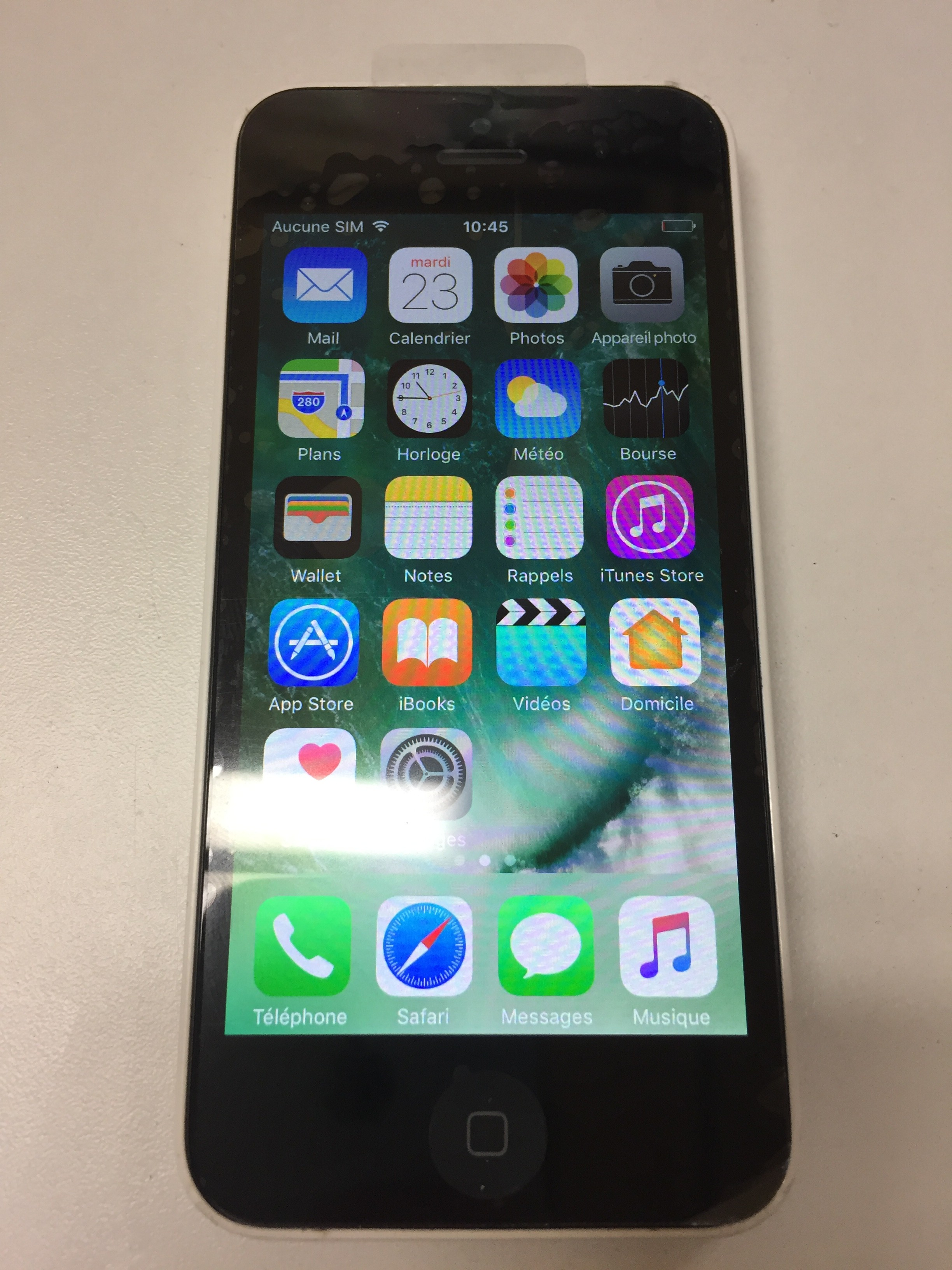 iPhone 5c usagé - Blanc - BELL/VIRGIN - 16 gb