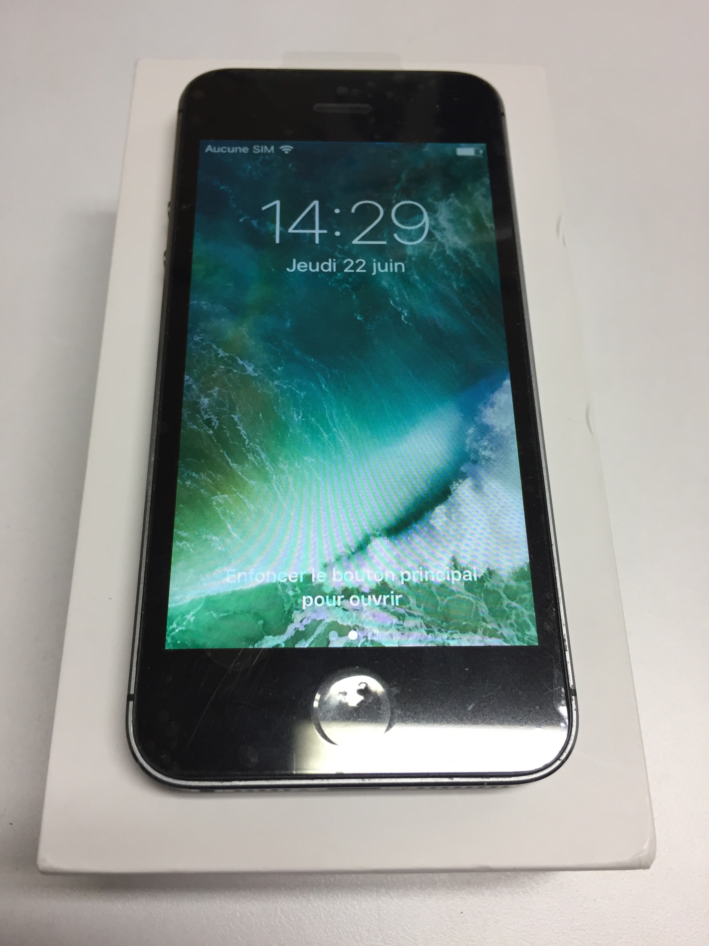 iPhone 5s - usagé - deverrouillé / unlock - 16 gb