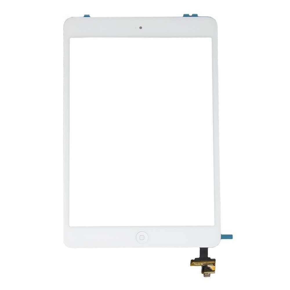 vitre ipad mini2 blanc