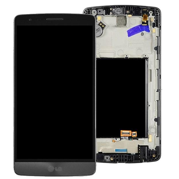 ÉCRAN - LCD + VITRE TACTILE | LG G3 (NOIR)
