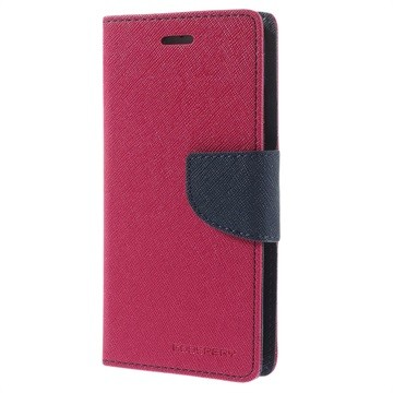 PROTECTEUR - ÉTUI - ROSE - GOOSPERY - FANCY DIARY CASE - IPHONE 5 / 5S /SE