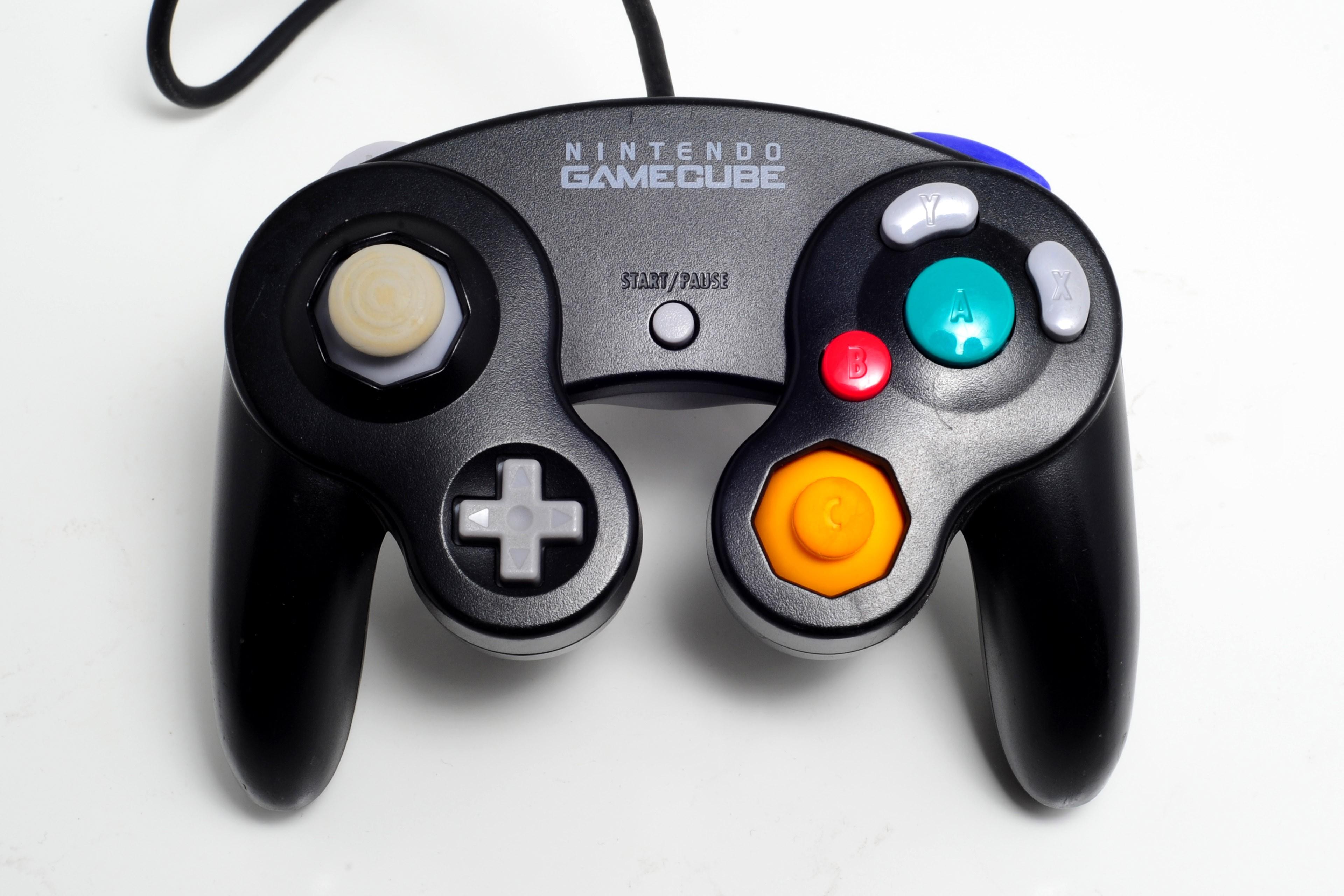 Nintendo GameCube black original controller