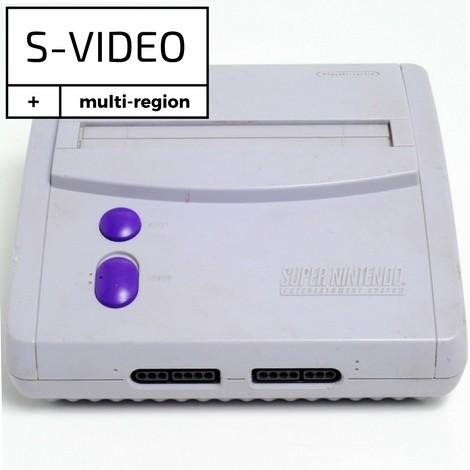 Console SNES MINI - Super Nintendo avec modification interne pour signal S-Video - sans accessoires