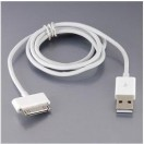 Cable USB pour iPhone, iPod Touch et iPad - 1M