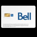 Carte Sim / Micro-Sim / nano-Sim de Bell Mobilité - Pour Service Prépayé ou Mensuel