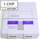 Console Nintendo SNES modèle 1-chip - sans fil ni manette