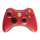 Manette contrôleur XBOX 360,rouge, remise à neuf